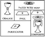 Vessels in order for Eucharist